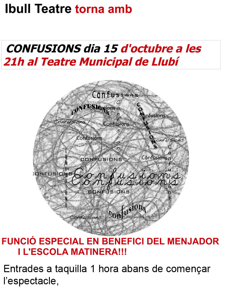 Confusions 15 oct-1